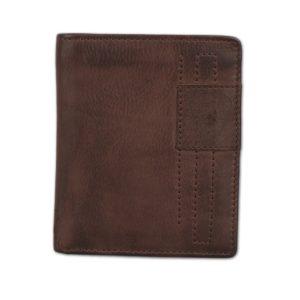Strellson Pánská kožená peněženka Upminster 4010001929 - tmavě hnědá