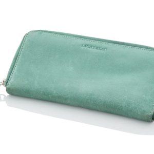 Travelite Dámská kožená peněženka Lichtblau 5000-21