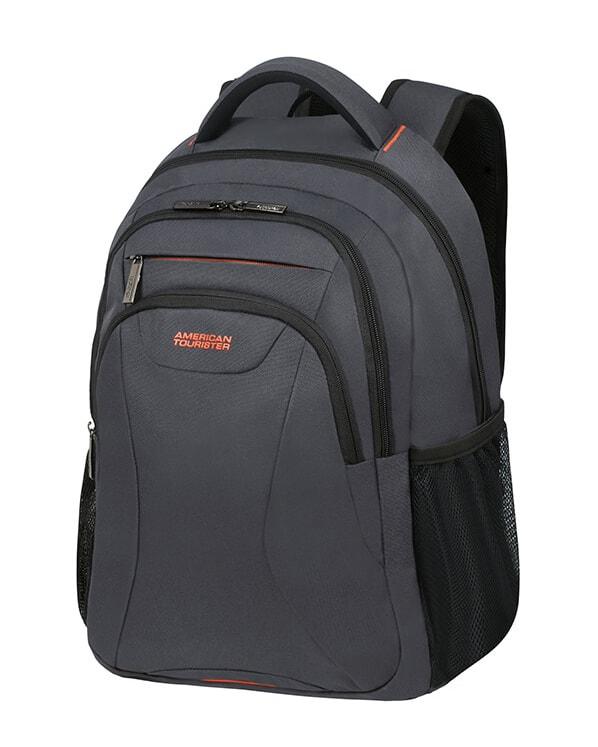"""American Tourister Batoh At Work Laptop Backpack 33G 25 l 15.6"""" - šedá/oranžová"""