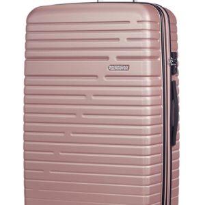 American Tourister Cestovní kufr Aero Racer EXP 61G 100/115 l - růžová