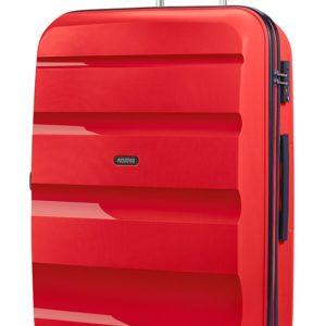 American Tourister Cestovní kufr Bon Air Spinner 91 l - červená
