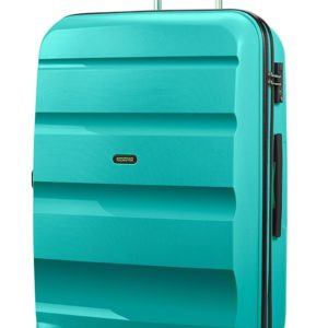 American Tourister Cestovní kufr Bon Air Spinner 91 l - tyrkysová