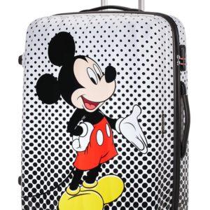 American Tourister Cestovní kufr Disney Legends Spinner 88 l - Mickey Mouse Polka Dots