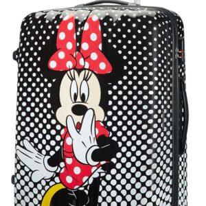 American Tourister Cestovní kufr Disney Legends Spinner 88 l - Minnie Mouse Polka Dots