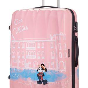 American Tourister Cestovní kufr Disney Legends Spinner 19C 88 l - Take Me Away Mickey Venice