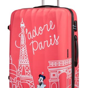 American Tourister Cestovní kufr Disney Legends Spinner 88 l - Take Me Away Minnie Paris