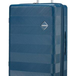 American Tourister Cestovní kufr Flylife Spinner EXP 81G 100/114 l - petrol modrá