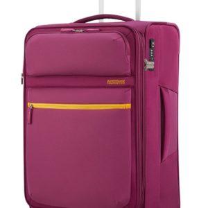 American Tourister Cestovní kufr Matchup Spinner 77G 71/78 l - růžová