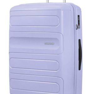 American Tourister Cestovní kufr Sunside 51G EXP 106/118 l - fialová