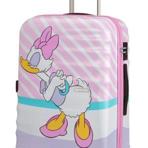 American Tourister Cestovní kufr Wavebreaker Disney Spinner 31C 64 l - Daisy Pink Kiss