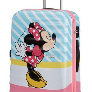 American Tourister Cestovní kufr Wavebreaker Disney Spinner 31C 64 l - Minnie Pink Kiss