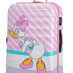 American Tourister Cestovní kufr Wavebreaker Disney Spinner 31C 96 l - Daisy Pink Kiss
