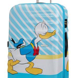 American Tourister Cestovní kufr Wavebreaker Disney Spinner 31C 96 l - Donald Blue Kiss