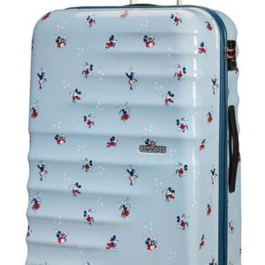American Tourister Cestovní kufr Wavebreaker Disney Spinner 31C 96 l - Minnie Darling Blue