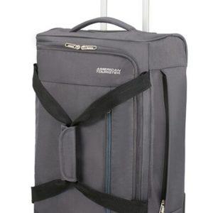 American Tourister Cestovní taška na kolečkách Heat Wave 45 l - šedá