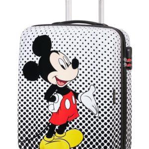 American Tourister Kabinový cestovní kufr Disney Legends Spinner 19C 36 l - Mickey Mouse Polka Dots