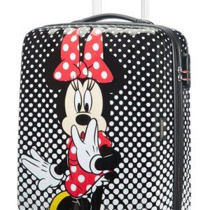 American Tourister Kabinový cestovní kufr Disney Legends Spinner 19C 36 l - Minnie Mouse Polka Dots