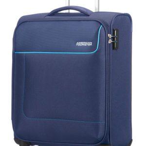 American Tourister Kabinový cestovní kufr Funshine Spinner 20G 36 l - tmavě modrá