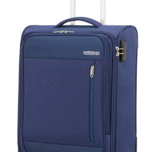 American Tourister Kabinový cestovní kufr Heat Wave Upright 42 l - modrá