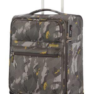 American Tourister Kabinový cestovní kufr Matchup Print Spinner 77G 42 l - camo grey