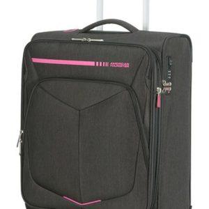 American Tourister Kabinový cestovní kufr Summerfunk Neon EXP 43/46 l - růžová