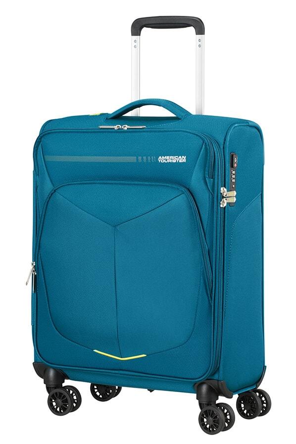 American Tourister Kabinový cestovní kufr Summerfunk Strict Spinner 78G 40 l - modrá