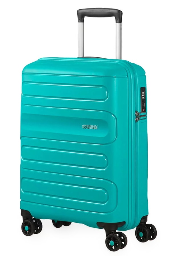 American Tourister Kabinový cestovní kufr Sunside 51G 35 l - tyrkysová