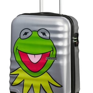 American Tourister Kabinový cestovní kufr Wavebreaker Disney Spinner 31C 36 l - Kermit Sparkle