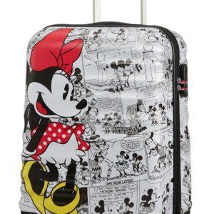 American Tourister Kabinový cestovní kufr Wavebreaker Disney Spinner 31C 36 l - Minnie Comics White
