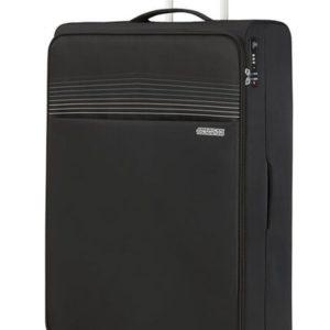 American Tourister Látkový cestovní kufr Lite Ray XL 105 l - černá