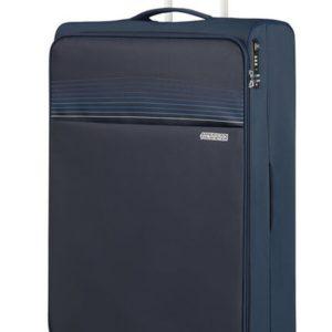 American Tourister Látkový cestovní kufr Lite Ray XL 105 l - tmavě modrá