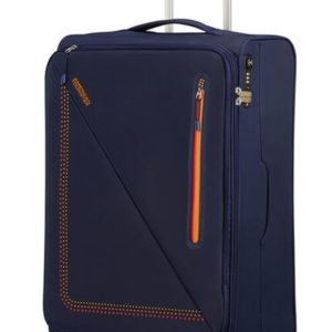 American Tourister Látkový cestovní kufr Lite Volt Spinner 70 l - SUNSET