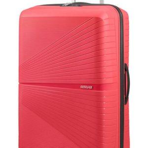 American Tourister Skořepinový cestovní kufr Airconic 101 l - růžová