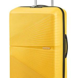 American Tourister Skořepinový cestovní kufr Airconic 67 l - žlutá