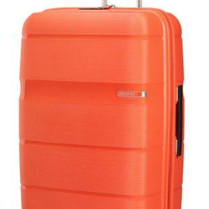 American Tourister Skořepinový cestovní kufr Linex 102 l - oranžová