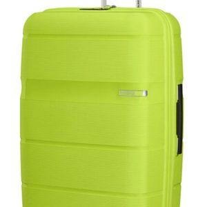 American Tourister Skořepinový cestovní kufr Linex 102 l - zelená