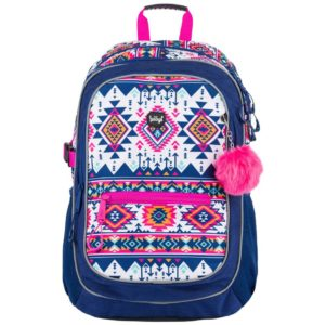 BAAGL Školní batoh Boho A-7729 25 l