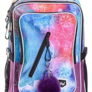 BAAGL Školní batoh Cubic Mandala A-7394 29 l