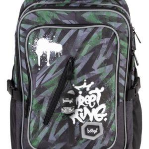 BAAGL Školní batoh Cubic Street King A-7210 29 l