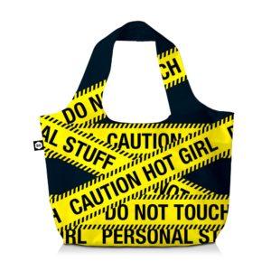 BG Berlin Nákupní taška Eco Bag Caution