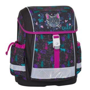 Bagmaster Školní batoh EPSON 8 A BLACK/PINK/BLUE 19 l
