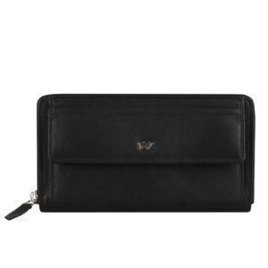 Braun Büffel Dámská kožená peněženka 90480-051 - černá