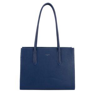 David Jones Paris Dámská kabelka přes rameno 6253-2 - modrá