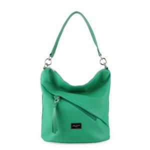 David Jones Paris Dámská kabelka přes rameno 6265-1 - zelená