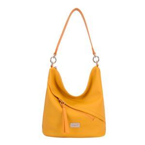 David Jones Paris Dámská kabelka přes rameno 6265-1 - žlutá