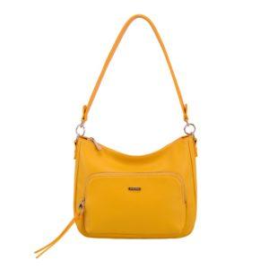 David Jones Paris Dámská kabelka přes rameno 6299-2 - žlutá