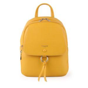 David Jones Paris Dámský batoh 6277-2 - žlutá
