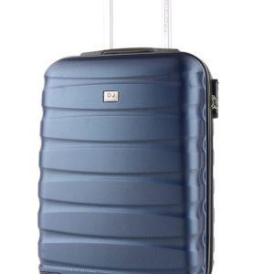 David Jones Paris Kabinový cestovní kufr BA-1030 34 l - modrá