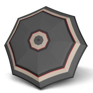 Doppler Holový deštník Carbonsteel Long Automatic London 714765L - šedá