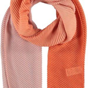 Fraas Dámský obdélníkový plisovaný šátek 625490 - oranžová